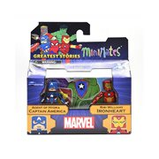 Marvel Minimates Captain America and Ironheart, Not Mint