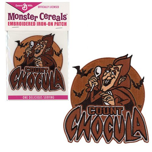 General Mills Count Chocula Embroidered Iron-On Patch