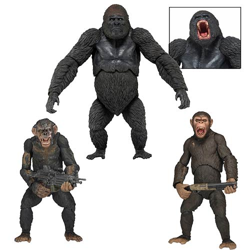 Dawn of the Planet of the Apes Series 2 Action Figure Set