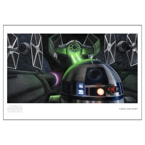 Star Wars I Have You Now! by Rob Surette Paper Giclee Print