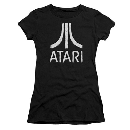 Atari Rough Logo Juniors T-Shirt