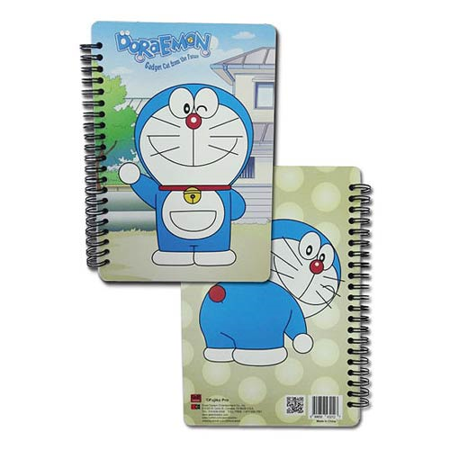 Doraemon Doraemon Spiral Notebook