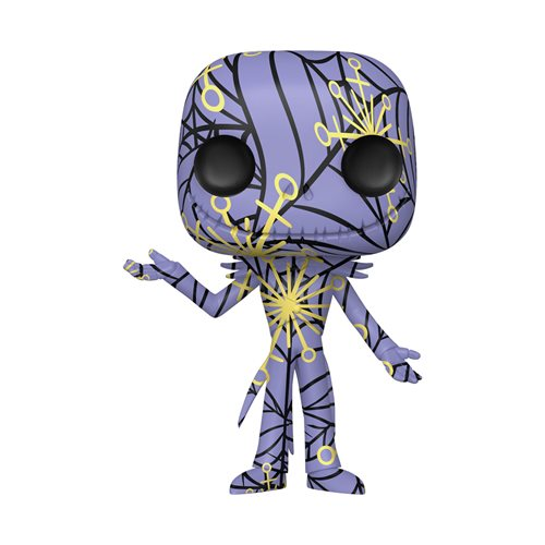 The Nightmare Before Christmas Jack Skellington Artist's Series Pop! Vinyl Figure with Pop! Protector Case