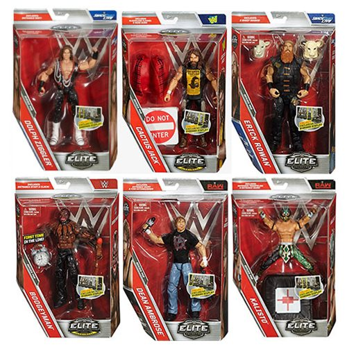 WWE Elite Collection Series 48 Action Figure Case