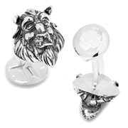 Beauty and the Beast Classic The Beast Head 3D Cufflinks