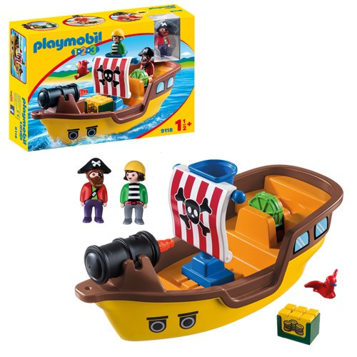 Playmobil 9118 1.2.3 Pirate Ship