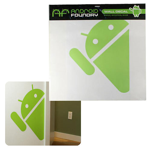 Google Android Foundry Hidden Android Giant Wall Decal