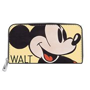 Mickey Mouse Classic Zip-Around Wallet