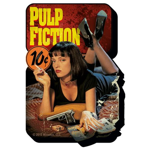 Pulp Fiction One Sheet Funky Chunky Magnet