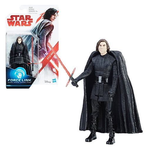 Star Wars: The Last Jedi Kylo Ren Action Figure, Not Mint