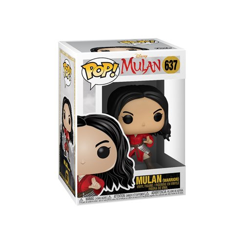 Mulan Live Action Warrior Pop! Vinyl Figure