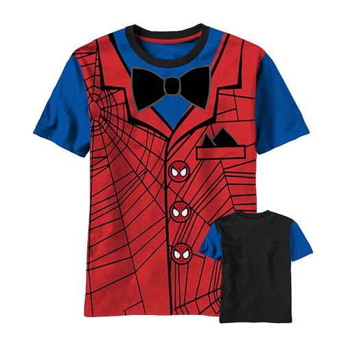 Spider-Man Formal Juvy Costume T-Shirt