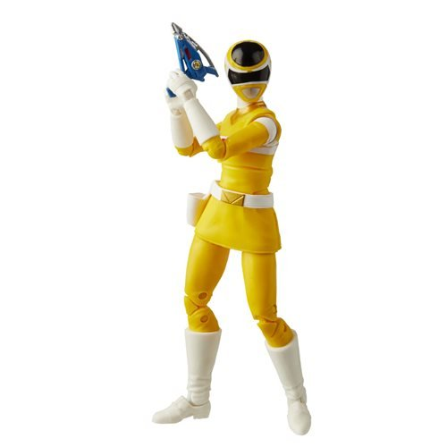 Power Rangers Lightning Collection In Space Yellow Ranger 6-Inch Action Figure