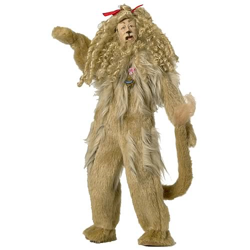 Wizard of Oz Cowardly Lion Tonner Doll