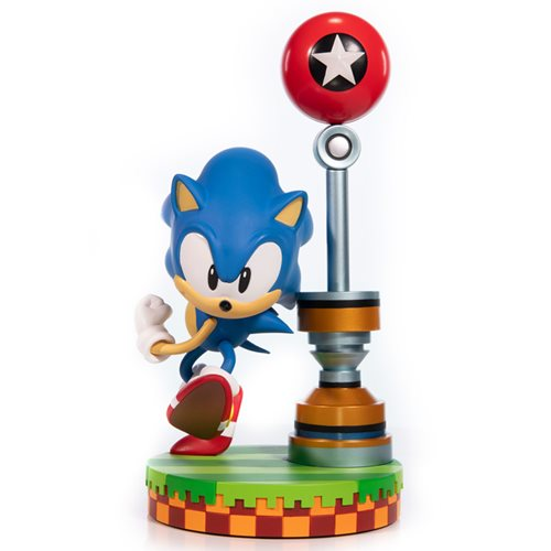 Sonic the Hedgehog Green Hill Zone Diorama 11-Inch Statue