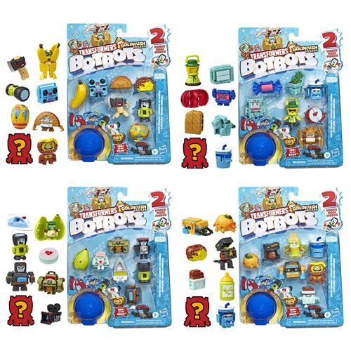 Transformers Botbots Collectible Figure 8-Packs Wave 5 Case