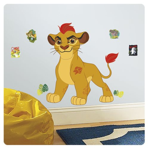 The Lion Guard Kion Peel and Stick Giant Wall Decals