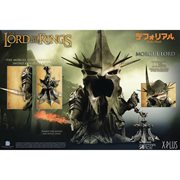 Lord of the Rings Morgul Lord Defo Real Polyresin Statue