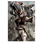Mighty Morphin' Power Rangers White Ranger Canvas Giclee Print
