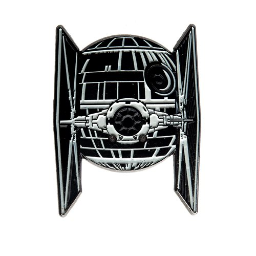 Star Wars TIE Fighter / Death Star Light-Up Pin