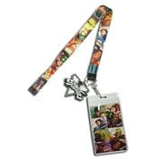 Street Fighter V Character Lineup Lanyard