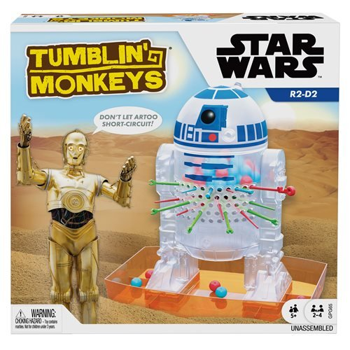 Star Wars Tumblin' Monkeys Game
