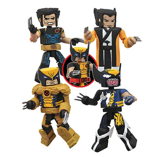 Wolverine Saga Minimates Box Set - San Diego Comic-Con 2013 Exclusive