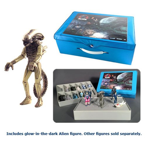 Alien ReAction Figure Carry Case with Figure