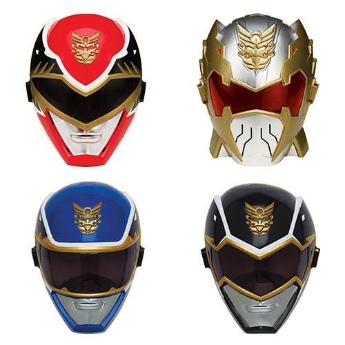 Power Rangers Megaforce Ranger Mask Wave 4 Case