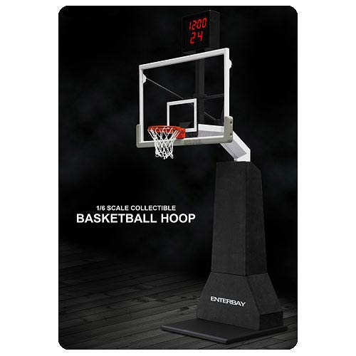 NBA Real Masterpiece Collection Basketball Hoop with Electronic Shot Clock
