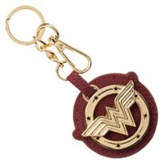 Wonder Woman Metal and Canvas Key Chain