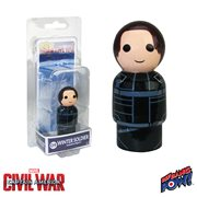 Captain America: Civil War Winter Soldier Pin Mate Wooden Figure