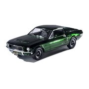 Bullitt 1968 Ford Mustang GT Fastback Green Chrome Edition 1:18 Scale Die-Cast Metal Vehicle