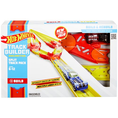 Hot Wheels Track Builder Unlimited Split Track Pack