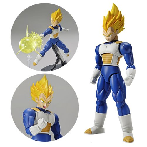 Dragon Ball Z Super Saiyan Vegeta Figure-rise Standard Model Kit