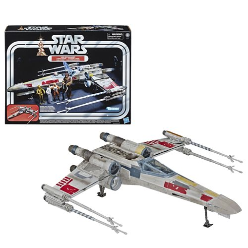Star Wars The Vintage Collection Luke Skywalker Red 5 X-Wing Fighter 3 3/4-Inch Scale Vehicle - Exclusive, Not Mint
