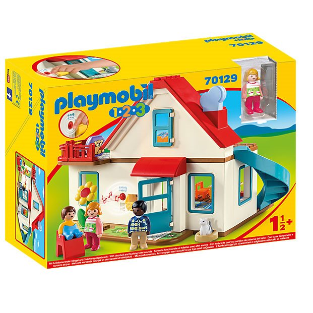 Playmobil 70129 1.2.3 Family Home