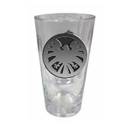 Marvel Colored SHIELD Logo Pint Glass