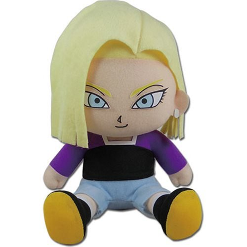 Dragon Ball Super Android 18 7-Inch Sitting Plush