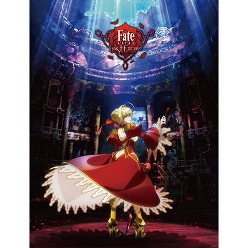 Fate/Extra Last Encore Saber Sublimation Throw Blanket