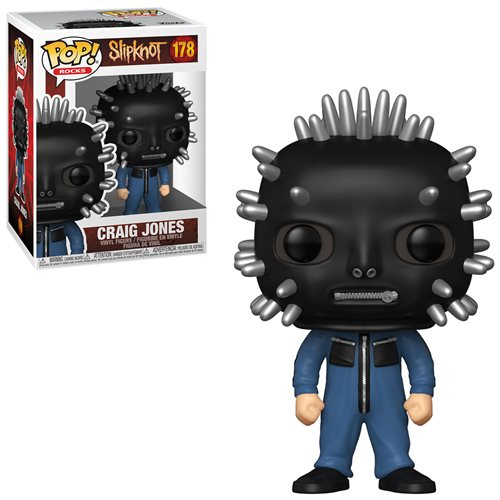 Slipknot Craig Jones Pop! Vinyl Figure
