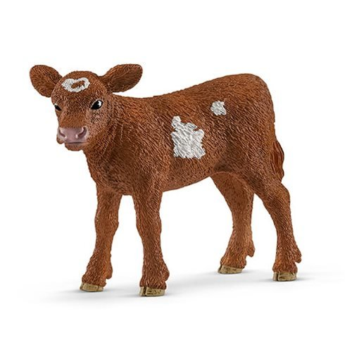 Farm World Texas Longhorn Calf Collectible Figure