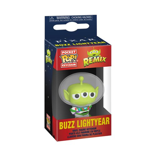 Pixar 25th Anniversary Alien as Buzz Pocket Pop! Key Chain