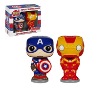 Captain America and Iron Man Pop! Home Salt and Pepper Shaker Set