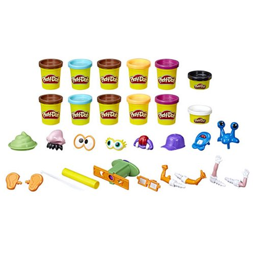 Play-Doh Poop Troop Set with 12 Cans