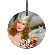 Wizard of Oz The Good Witch Starfire Prints Hanging Glass Ornament