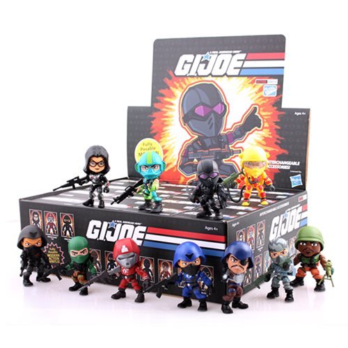 G.I. Joe 3-Inch Random Figure Series 2 Mini-Figure 4-Pack