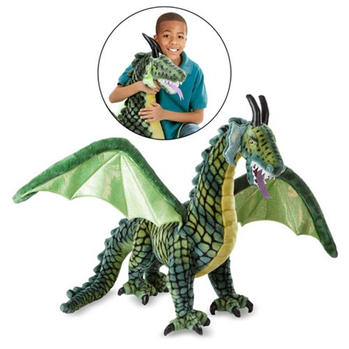 Giant Winged Dragon Plush