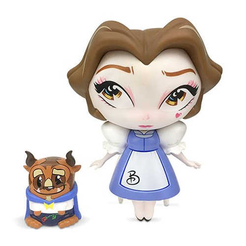 Disney The World of Miss Mindy Beauty and the Beast Belle With Beast Vinyl Figure