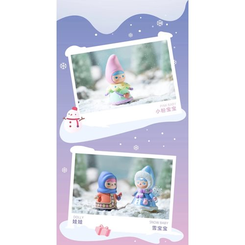 Pucky Winter Babies Mini-Figure Blind Box